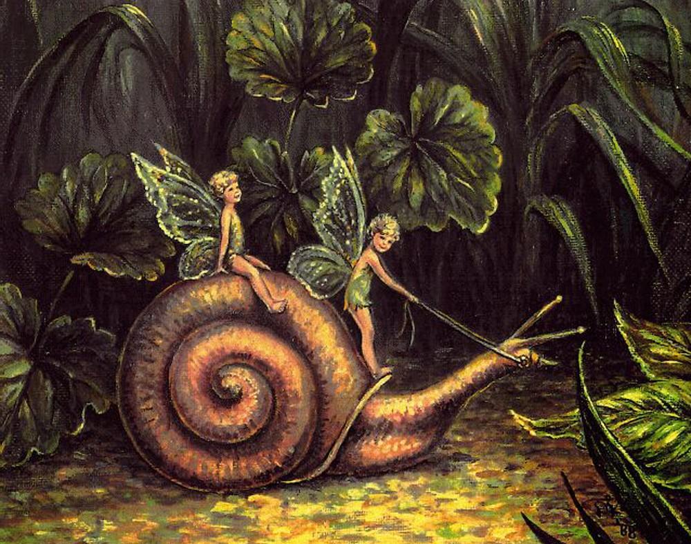 hadas.................................. Dier-53-1-snails-and-fairys