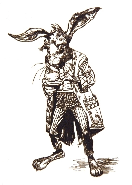 March Hare | poetreecreations.