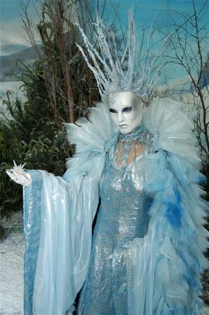 The Ice Queen - Closeup