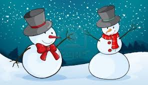 TWO SNOWMEN1234