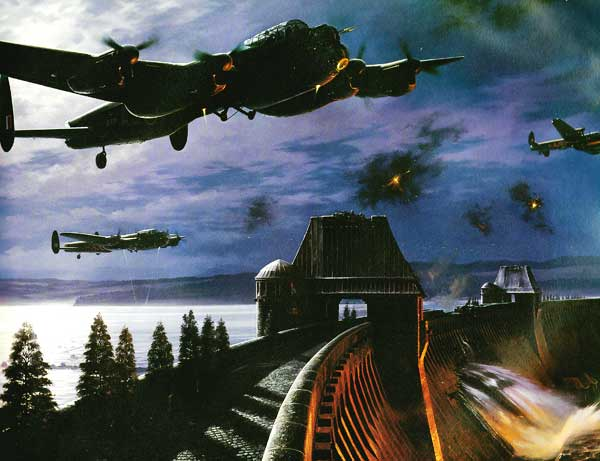 Avro-Lancaster-Dam-Buster-Painting