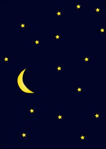 Moon_in_dark_night_sky_full_of_stars