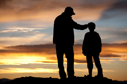 504797866000-Dad and Son sunset
